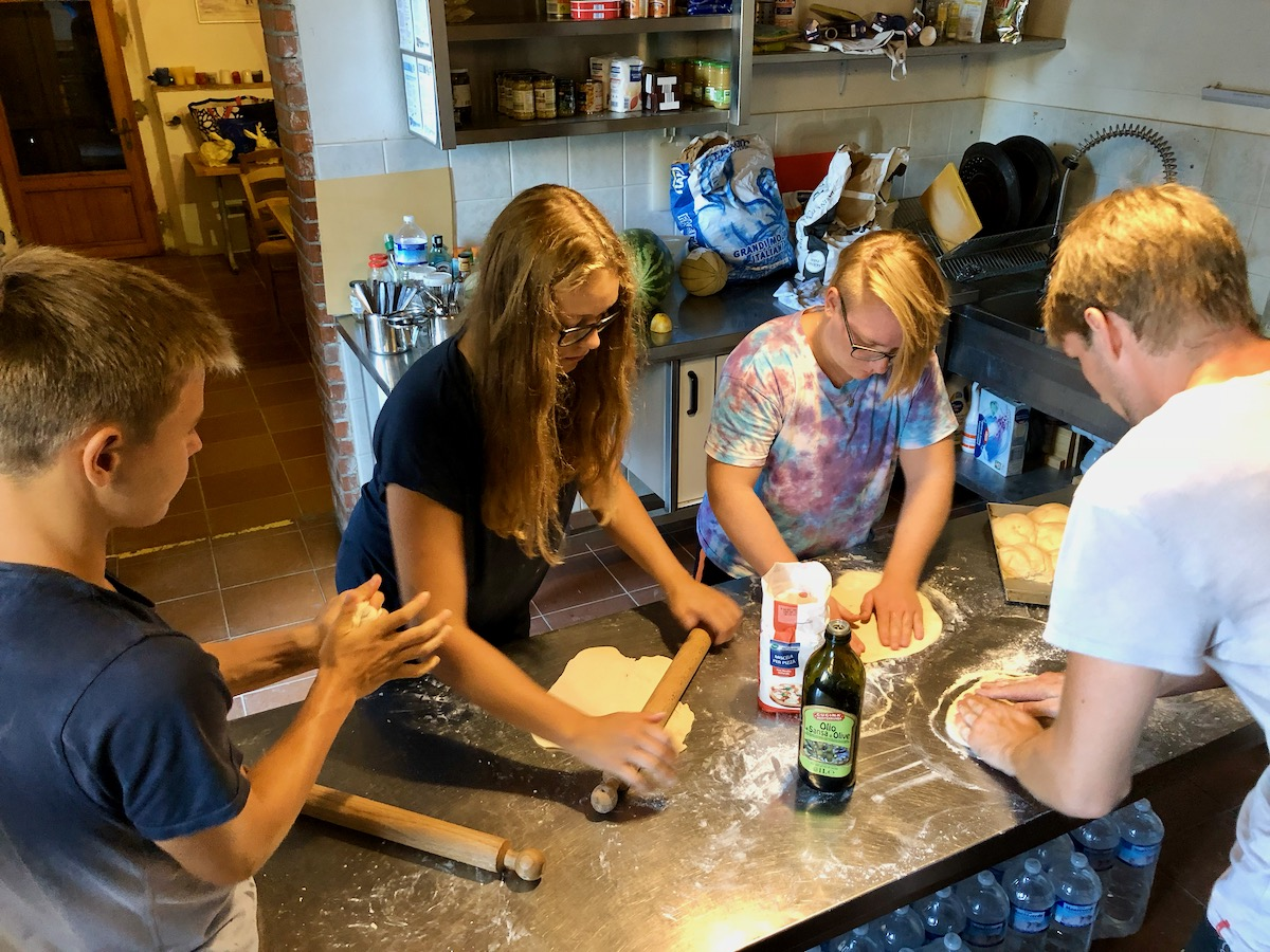 Kochkurs: Pizza backen